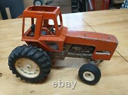 1/16 Ertl Allis Chalmers 7050 Maroon Belly Farm Toy Tractor PARTS OR REPAIR