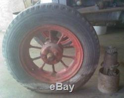 1934 Plymouth Tractor Faith-Root-Heath Pre Silver King Hercules 20 HP Motor RARE