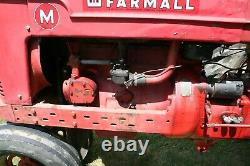 1948 International Farmall M Gas 36HP, 4Cyl, 4.1L, 6V, 5 Speed, 2WD