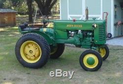 1949 John Deere Model M Tractor