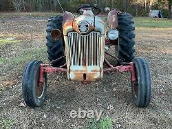 1955 Ford 860 Tractor