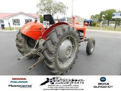1963 Massey Ferguson 35X Tractor RED Antique Vintage JUST SERVICED