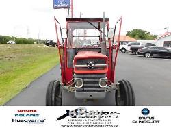 1964 Massey Ferguson 135 Tractor with Cab RED Vintage Antique