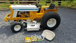 1969 International Cub Lo Boy 154 tractor for sale with 60 mower deck