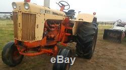 1969 J. I. Case Model 930 Comfort King Diesel Farm Tractor Good 3 point & PTO