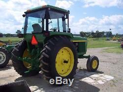 1973 John Deere 4230 Farm Tractor, QUAD RANGE, AIR, DUAL REMOTE 18.4X38 TIRES