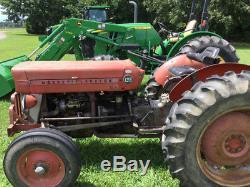 1973 Massey Ferguson 135 Tractors