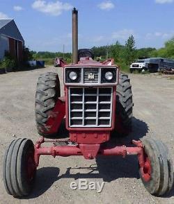 1974 International Harvester 1066 Tractor 3 Pt. Hitch PTO Engine Overhaul