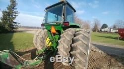 1975 John Deere 4430 withduals, showing 8366 hours. New Cab kit