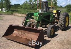 1977 John Deere 2640 Tractor 3 Pt. Hitch 540 PTO Diesel Engine 148 Loader