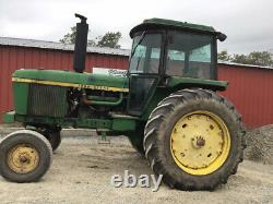 1977 John Deere 4230 2wd 110Hp Farm Tractor with Cab. CHEAP