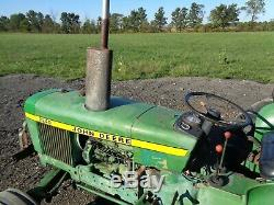 1978 John Deere 2240 Tractor, 2WD, OROPS with Sunshade, 1 Remote, Showing 2,398HRS