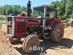 1978 Massey Ferguson 2745 Tractor PTO 3-Point Diesel Cab 140 hp Ag Tractor