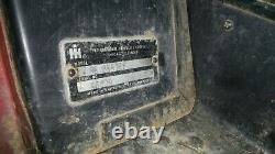 1980 International Harvester 1086 Tractor Only 5351 original hours IH Diesel 2WD