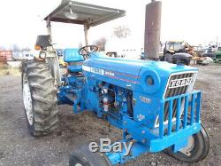 1981 Ford 6600 Tractor, 2WD, Blue Power Special, 1 Remote, 5,275 Hours