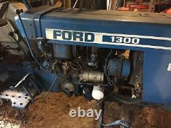1981 Ford F-1300 F1300 Diesel Tractor & Trailer 72 Hours on Engine SE PA