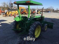 1984 John Deere 850 Compact Tractor with Front Power Blade