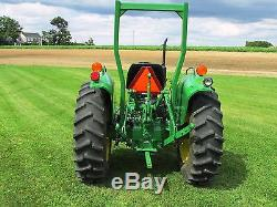 1988 John Deere 1050 Compact Tractor 33 HP 4wd Gear Front Weights 728.2 Hours
