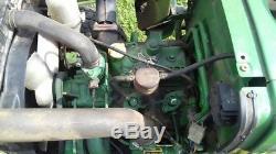 1988 John Deere 650 MFWD Tractors