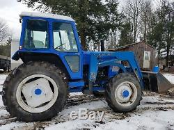 1988 ford 6710 4x4 withloader, dual remotes, 540/1000 pto