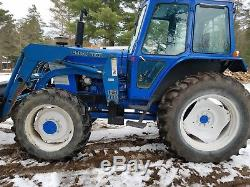 1988 ford 6710 4x4 withloader, dual remotes, 540/1000 pto 4000 hours, heat, radio