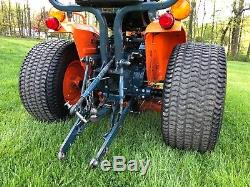 1990 Kubota B7200 HST 4x4 Tractor