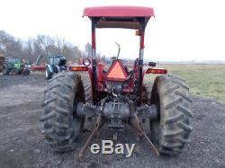 1991 Massey Ferguson 383 Tractor, 4WD, MF 838 Front Loader, 81HP Diesel