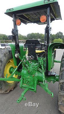 1992 John Deere 2755 DIESEL 88hp tractor 4HYD takeoffs CAB Fresh Paint & Decals