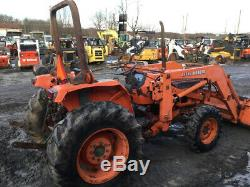 1992 Kubota L3750 4x4 Compact Tractor with Loader