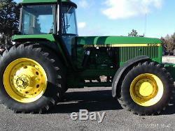1993 John Deere 4960 4WD Tractors