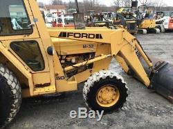 1994 Ford 345D 4x4 Utility Tractor with Cab & Loader 3pt & PTO Only 1400 Hours