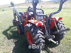 1994 Kioti LB1914 compact tractor 20 hp Daedong Diesel 4x4 PTO used 517 hours