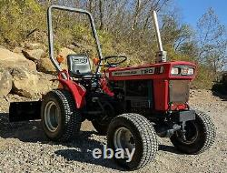 1994 MASSEY FERGUSON 1120 with60 Rear Blade- ONLY 817 HOURS! 4wd 45701 Athens