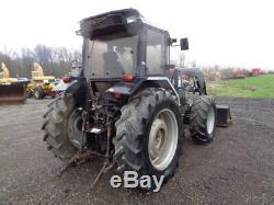 1994 White 6085 Tractor, Cab/Heat/Air, 4WD, Buhler/Allied 695 Loader, 85HP