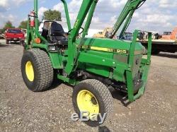 1995 John Deere 955 Tractor/Loader/Backhoe, 4WD, Hydro, 1550 Hours