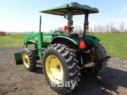 1996 John Deere 5300 Tractor, 4WD, JD 540 Loader, 56HP, 2,675 Hours