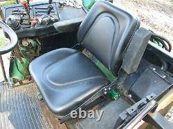 1997 John Deere 7210 Diesel 4WD with Dual whls & 740 Loader, Forks & Bucket, 3k hr