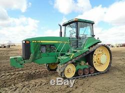 1998 JOHN DEERE 8400T Track Ag Tractor (Stock #2571)