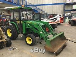1998 John Deere 4600 Tractor Loaders