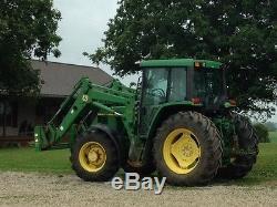 1998 John Deere 6410 MFWD Tractors