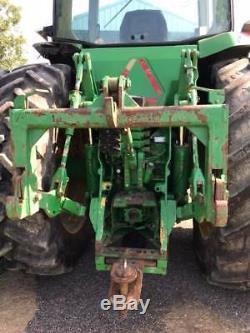 1998 John Deere 8400 Tractor 225 Horsepower 4WD Dual Rear Wheels Cab A/C in MS