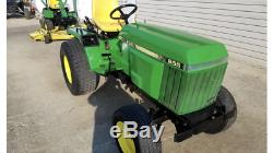 1998 John Deere 855 Compact tractor