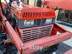 1998 Kioti Lk3054 Compact Tractor With Loader 4x4 30 HP Gear Drive 260 Hrs