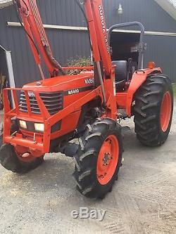 1998 Kubota M5400 4x4 Tractor Loader 59 HP (1300 hours) Diesel
