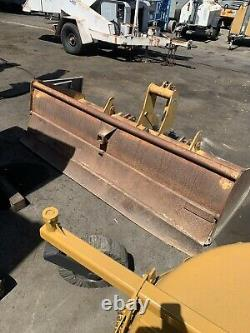 1998 new holland / Ford 3930 tractor Mower And Gannon Box Scraper