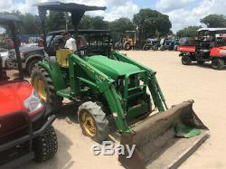 1999 John Deere 4300 4x4 Hydro Diesel Compact Tractor with Loader Coming Soon