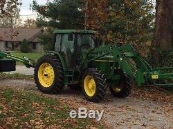 1999 John Deere 6410 Tractor FWD A/C 16 Speed KENTUCKY