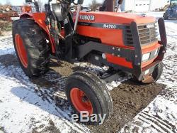 1999 Kubota M4700 Tractor, 2WD, OROPS, Quicke 310 Loader, 1 Remote, 2,488 Hours