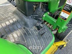 2000 John Deere 4200 Compact Tractor 4x4 26 HP Hydrostatic 60 Mower Forks 575hr