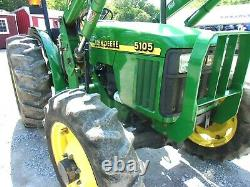 2000 John Deere 5105 Pre Emissions 1639 HRS- FREE 1000 MILE DELIVERY FROM KY